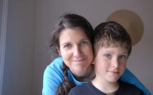 Frau mit Junge, Jugendhilfe Eltmann
