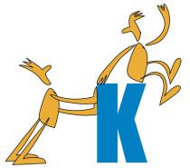 Männchen mit Buchstabe K, flexible Hilfen Altmann GmbH